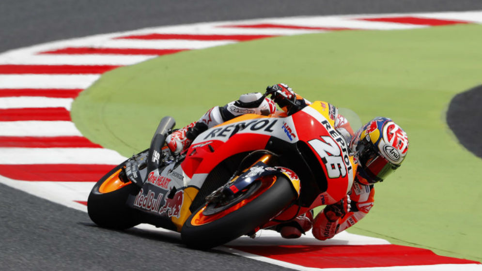 Dani Pedrosa takes second pole position of the year