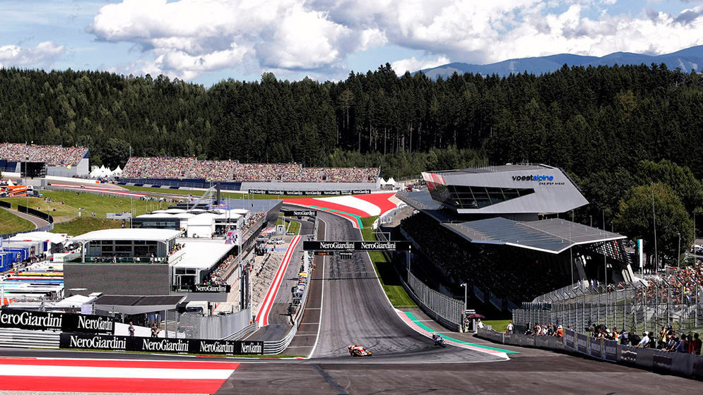 Why is the Austrian Grand Prix synonymous with speed?