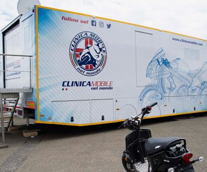 In MotoGP's Clinica mobile Riders' safety is top priority