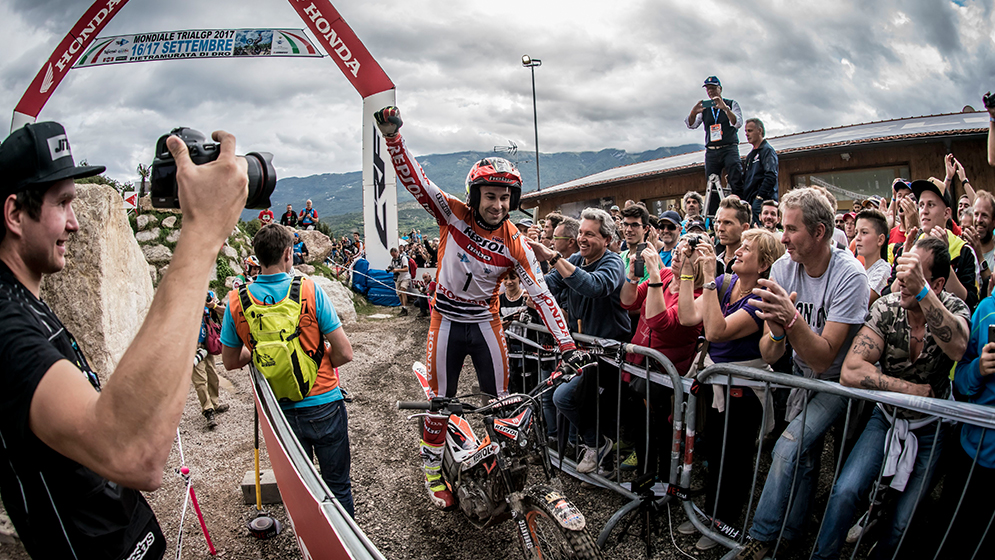 Toni Bou closes the World Championship with yet another victory