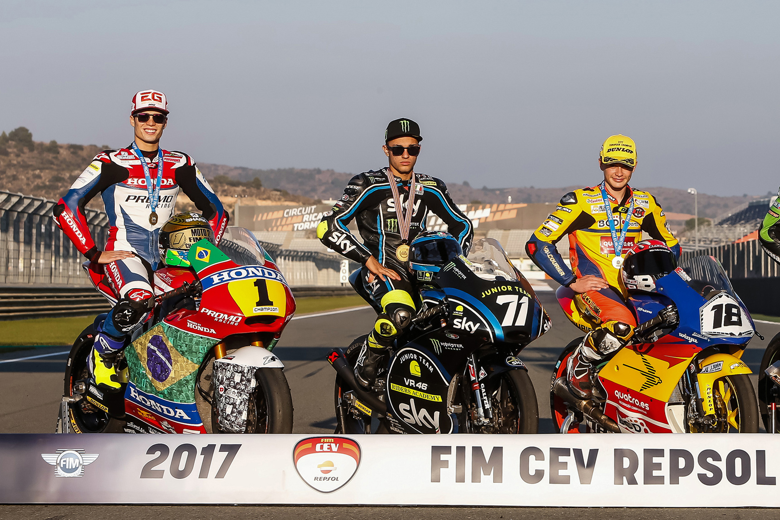 Granado and González join Foggia as FIM CEV Repsol Champions