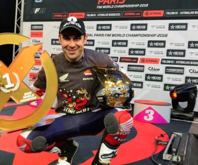 Toni Bou secures his twelfth X-Trial World Championship