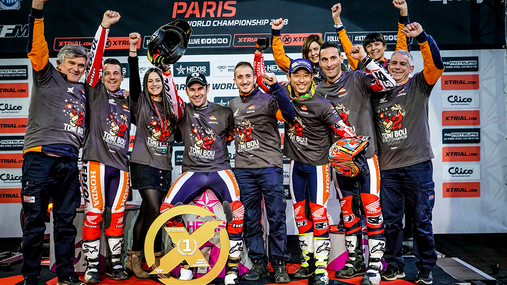 Toni Bou keeps improving his track record