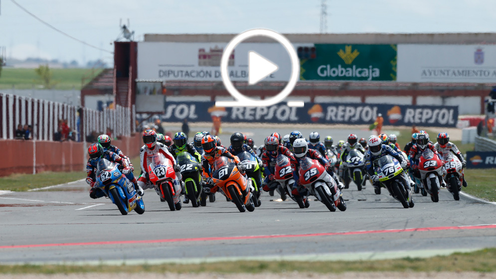 The 2018 FIM CEV Repsol starts in Estoril