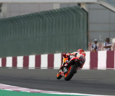 Marc Márquez to start from second at Qatar Grand Prix