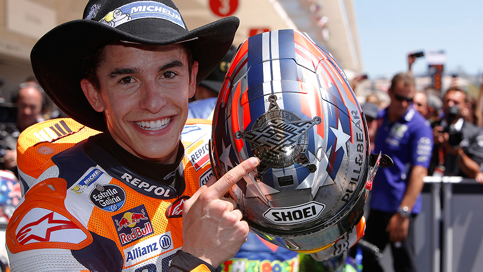 You can't talk about COTA without talking about Marc Márquez