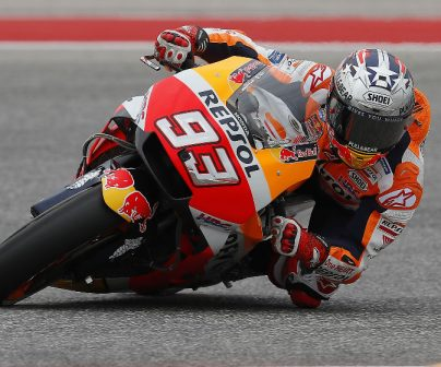 Márquez places second on Friday at COTA, with Pedrosa tenth