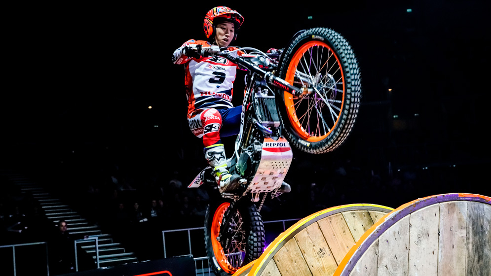Takahisa Fujinami closed the X-Trial season with a sixth place
