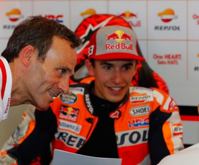 "Alberto Puig: ""The positive point is that Marc won and that his closest championship rivals didn't score points"""