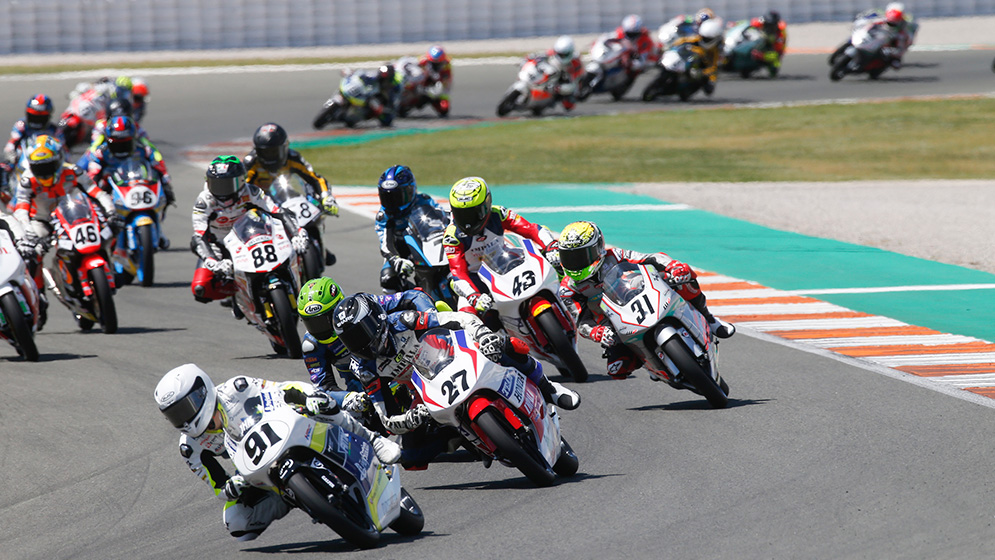 The FIM CEV Repsol also travels to the Le Mans Circuit