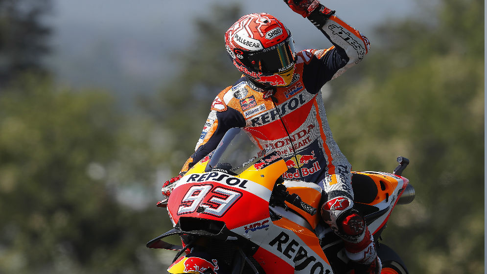 Front row start for Márquez in France