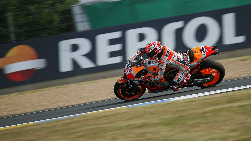 Márquez starts French GP weekend in second position and Pedrosa in eighth