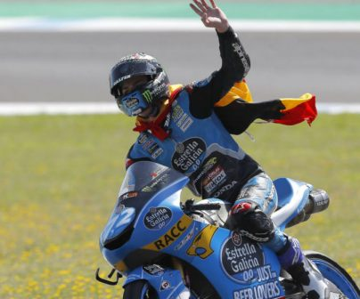 Alonso López places fourth in the Grand Prix of Spain