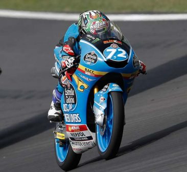 Alonso López finishes eighth and Arón Canet crashes out in Barcelona