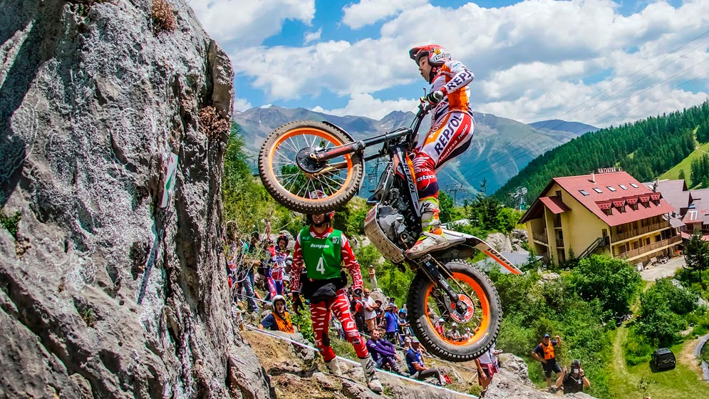 Fourth victory for Toni Bou